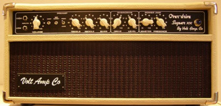 Volt Amp Co Over-drive Super RR front blonde